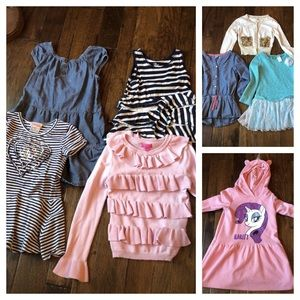 Other - Girls lot of 8 pcs size 5-6 Sweaters, dresses etc